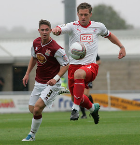 Northampton Town v Crawley Town, nPower League 2 October 8th 2011