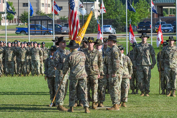 5-15 Cav  Change of Command