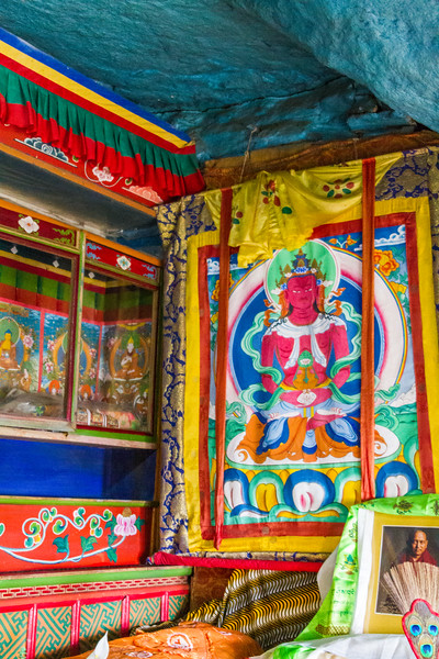 Interior view of temple - Nepal