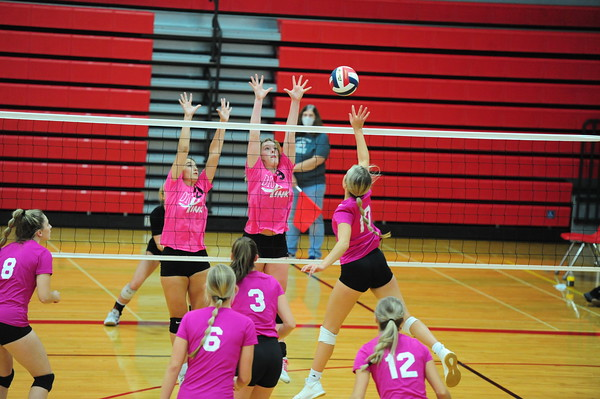 IHS volleyball (Anderson Co./Prairie View) 10/20/20