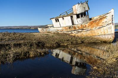 Pt Reyes Shipwreck, Feb 2014