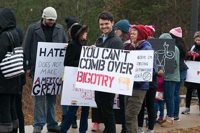 The Woman's March On Washington, Jan 21, 2017