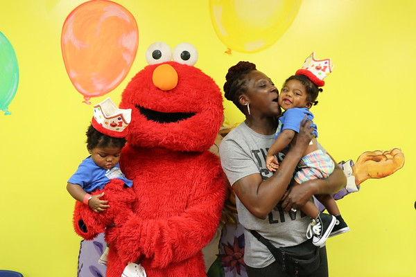 Happy Birthday S & S Twins love Elmo 2018