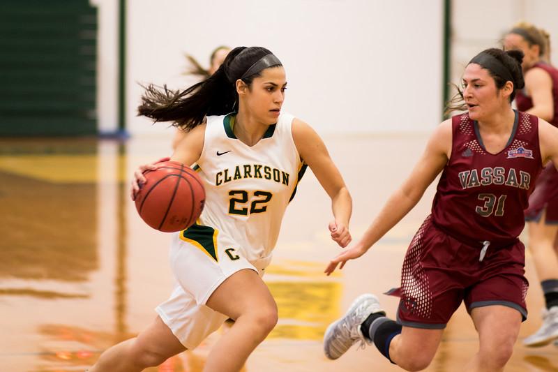 Clarkson Athletics: Women Basketball vs. Vassar.