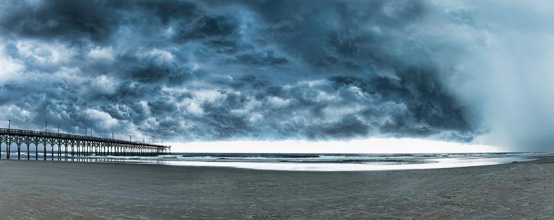 Topsail Island Storm Photos  Hurricane