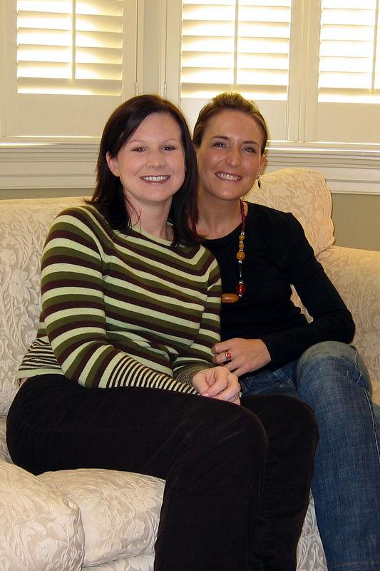 Natalie and Sally