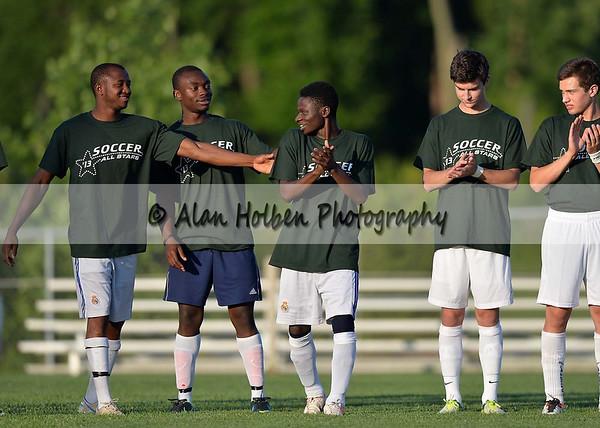 Boys Varsity Soccer - All Star Game - Green White
