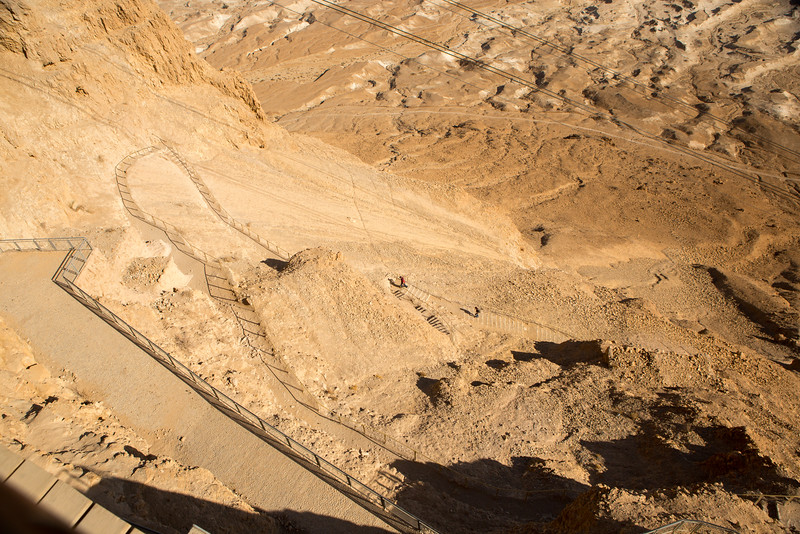 Walking Trail Up Masada