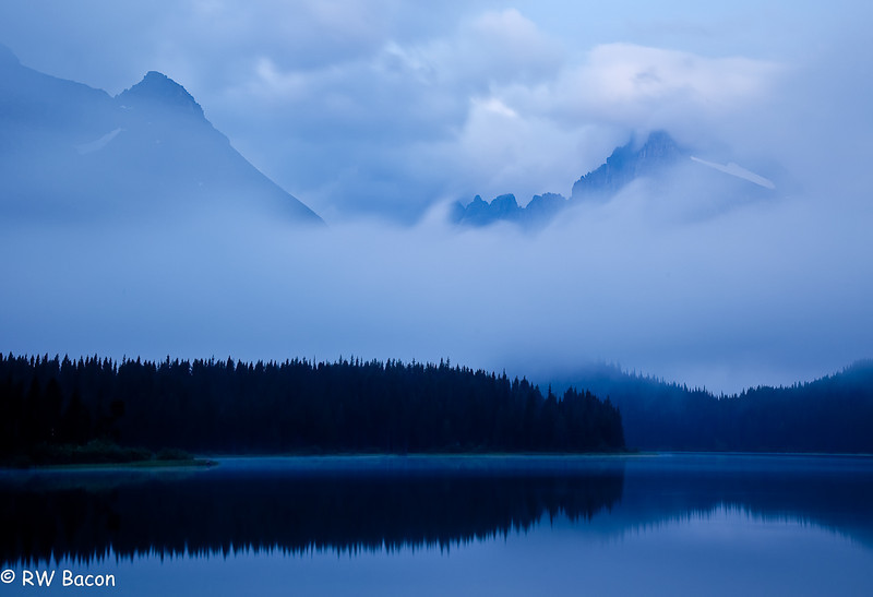 Many Glacier Tranquility Swiftcurrent Lake, Many Glacier Glacier National Park, MT