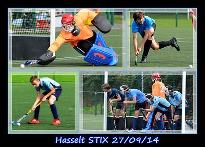 Hasselt STIX  U16  27/09/14