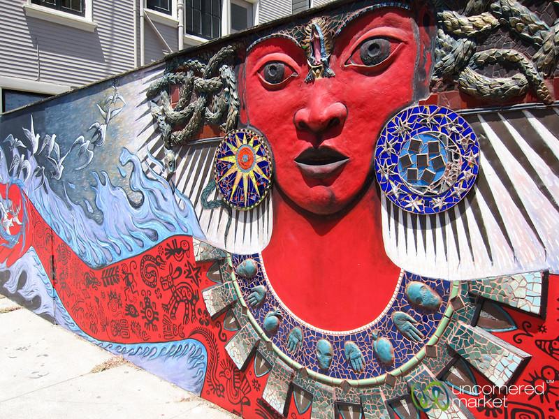 Street Art in San Francisco, California