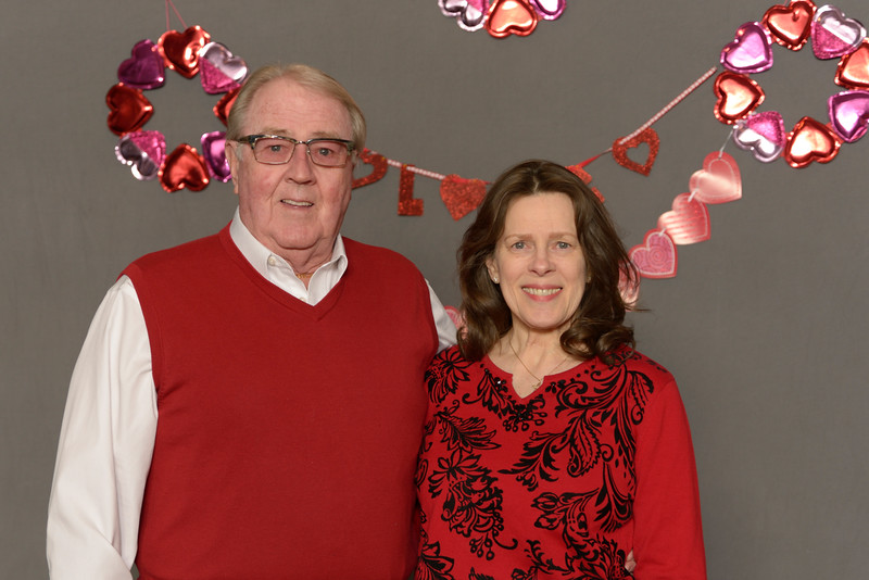 Bethel Valentine's Day Dinner, 2020 February 09.  Bethel Lutheran Church, Northfield, Minnesota  USA.