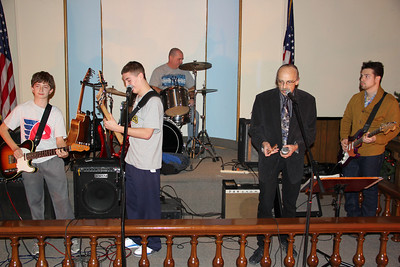 Jam Session, Community Arts Center, Tamaqua (12-28-2012)