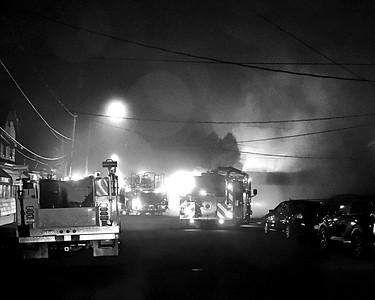 FOSTER TWP. GARAGE FIRE