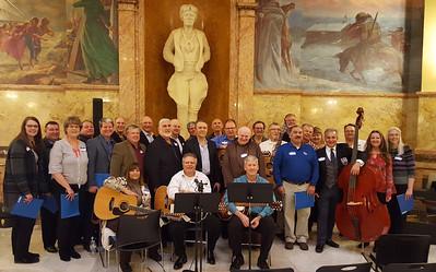 Folk Chorus Reunion - KS State Capitol