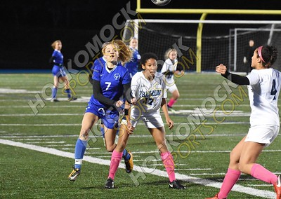 Attleboro - Franklin Girls Soccer 10-25-18
