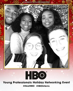 HBO Holiday Party #lifeatHBO