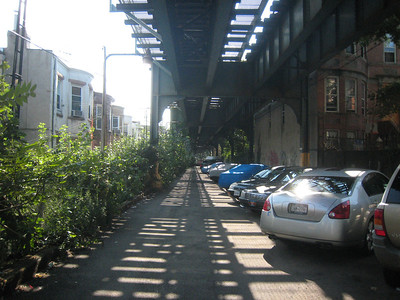 Under the El by Fresh Pond Road 8-6-08