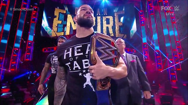 Roman Reigns - Screencaps / SD Live Jan 2, 2021