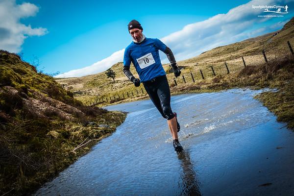 Nant yr Arian Half Marathon at 15kM