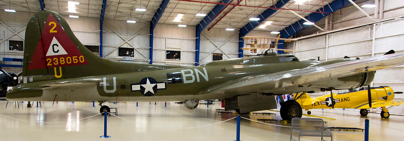 Another view of the Boeing B-17 heavy bomber