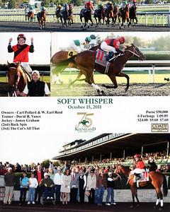 SOFT WHISPER - 10/15/2011