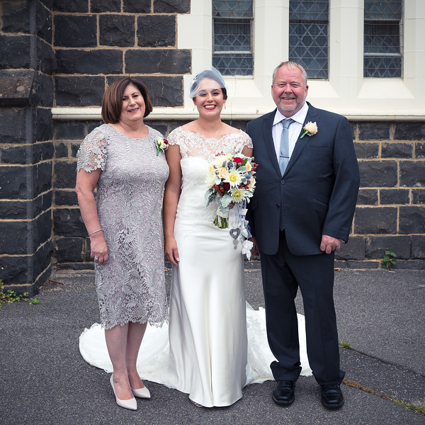Damian & Amanda's Wedding - Family Photos