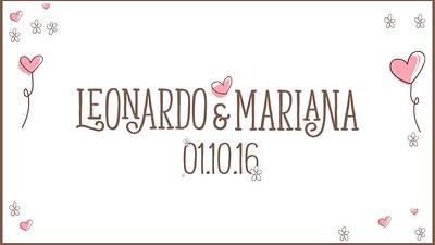 Mariana & Leonardo 01-10-16
