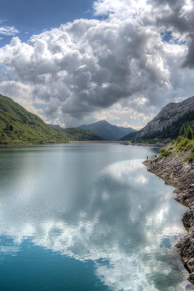 Fedaia Lake - Canazei, Trento, Italy - August 13, 2013