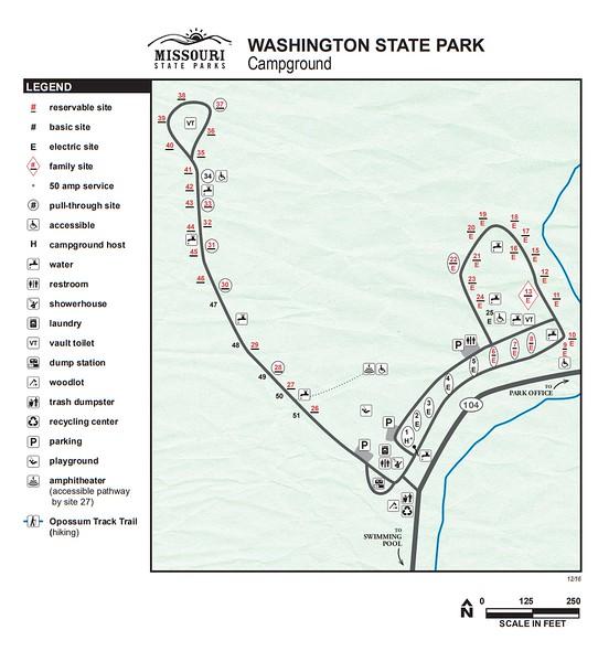Washington State Park (Campground Map)