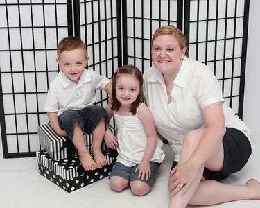 Jill, Lydia and Noah