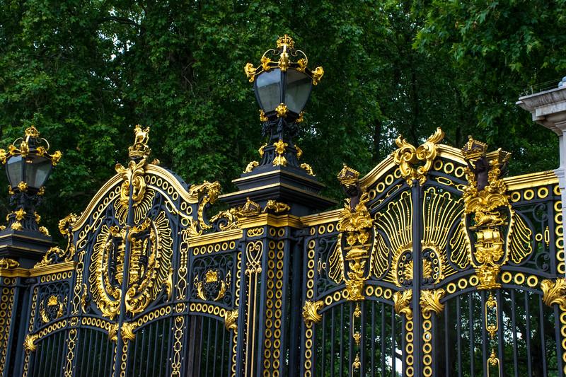 Canada Gate at Buckingham Palace