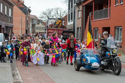 Carnavalstoet scholen Wuustwezel-centrum 2020