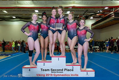 HS Sports - Viking Gymnastics Invite - Jan 05, 2019