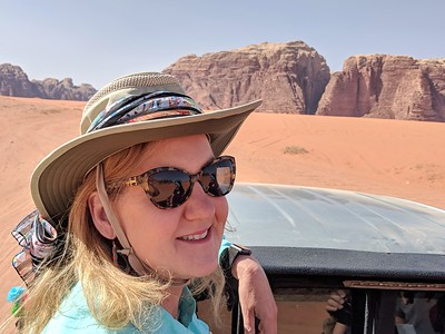 Day 2, Jordan - Wadi Rum ending up in Petra