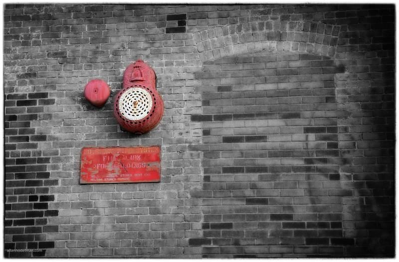 Old Fire Alarm at Zibi