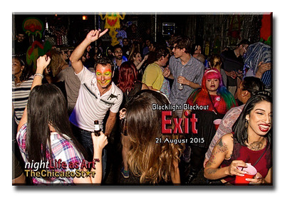 21 August 2015 Blacklight Blackout at Exit
