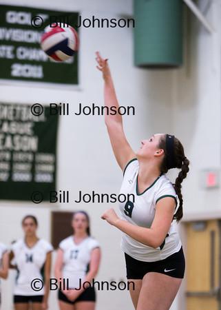 V Volleyball Randolph v Westwood 9_16_13