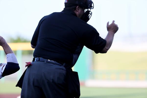 American Association Umpires @ Cleburne Games 11-19