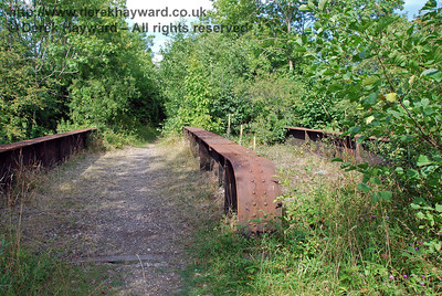 The disused Wealden Line from Barcombe Mills to Isfield Station (Lavender Line)
