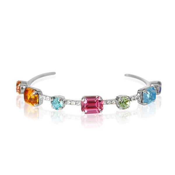 Angelina Bracelet : Rainbow Combo Rhodium.jpg