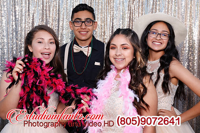 Lily's XV Photo Booth
