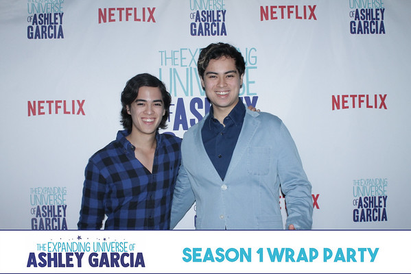 The Expanding Universe of Ashley Garcia Wrap Party