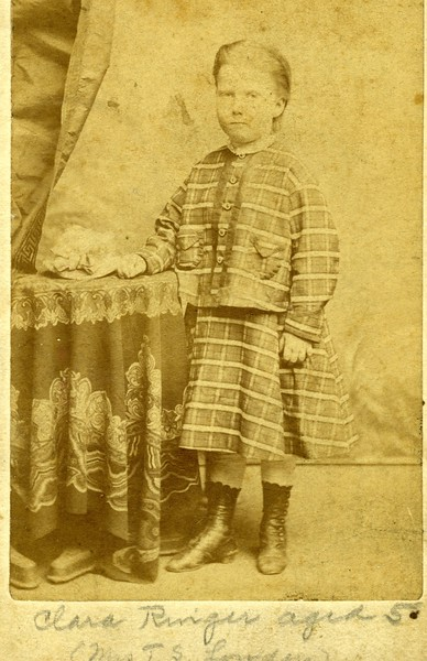 Clara Ringer-  Lowden Age 5