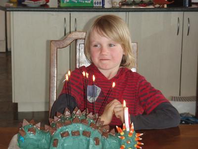 Emmett's 6th Birthday