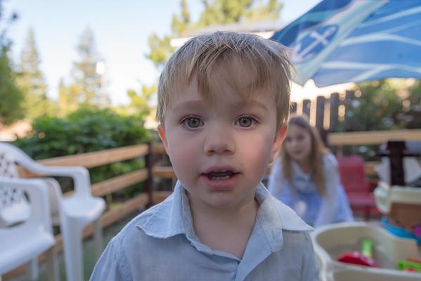 Raphaël 2nd Birthday - April 2016