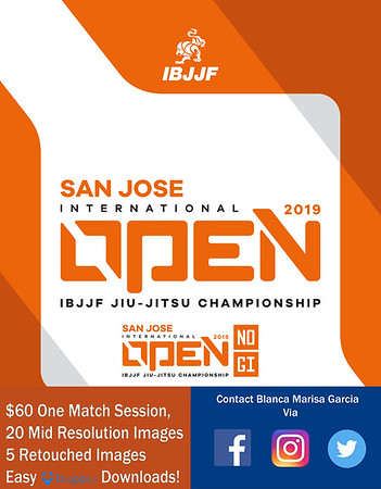 2019 IBJJF San Jose Open