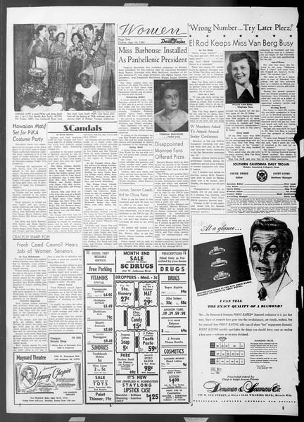 Daily Trojan, Vol. 44, No. 108, April 10, 1953