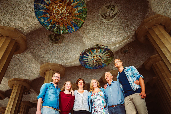 Carolien & family | Park Guell