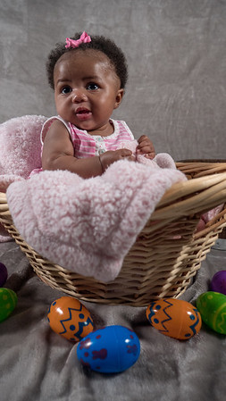 Azziah First Easter